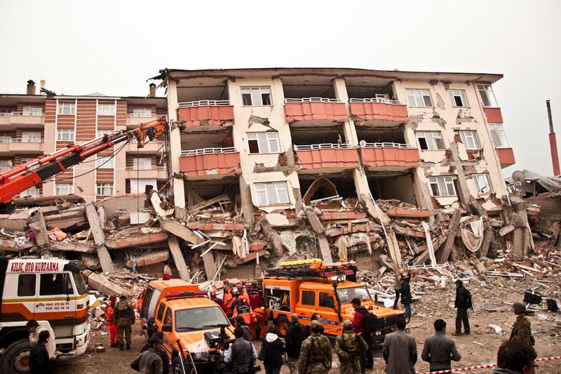 زلزله وان ترکیه