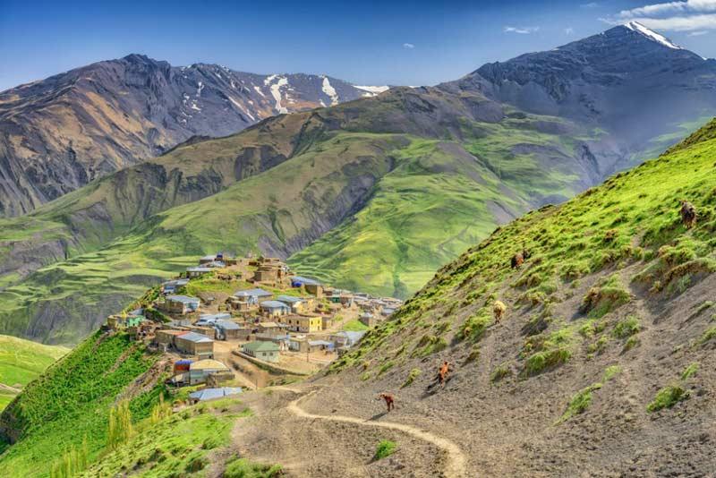 روستاهای کوهستانی آذربایجان